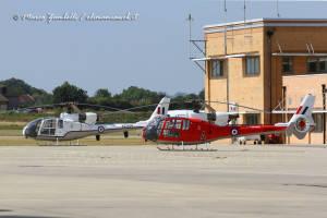 31 Gazelle HT3 XZ934  (G-CBSI) & ZB627 (G-CBSK)