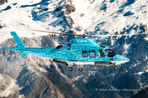 Agusta A109 F-GPHA at Courchevel
