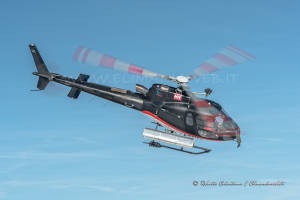 F-GSDG Eurocopter AS350 in blue sky