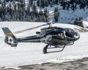 Eurocopter EC130 F-HDRY departure