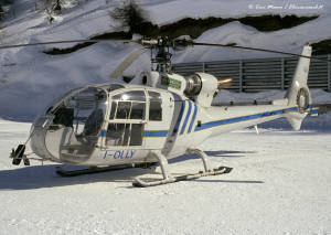 I-OLLY AS341 Gazzelle Heliwest Sestriere Copia